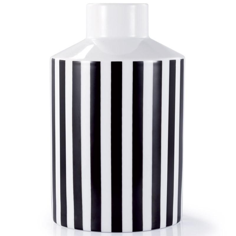 Большая ваза Black & White