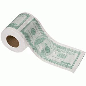 Туалетная бумага «101 доллар»