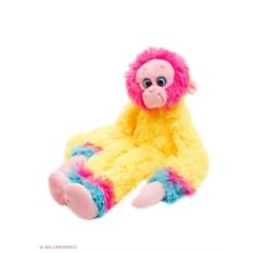 Мягкая игрушка СмолТойс Машка-обнимашка желтого цвета
