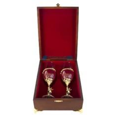 Набор бокалов под шампанское Ангел