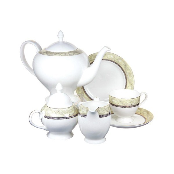 Чайный сервиз Романтика из 21 предмета на 6 персон