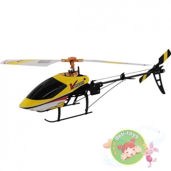 Радиоуправляемый желтый вертолет Walkera 3-Axis с гироскопом