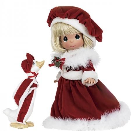 Кукла Classic Christmas Blonde