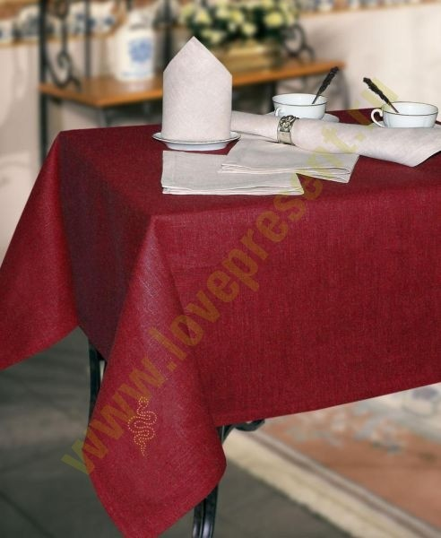 Набор столовый Змейка (скатерть 180х140 см, 6 салфеток)