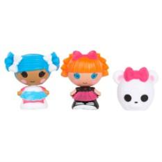 Набор кукол Лалалупси Малютки – Снежинка, Отличница, Мишка
