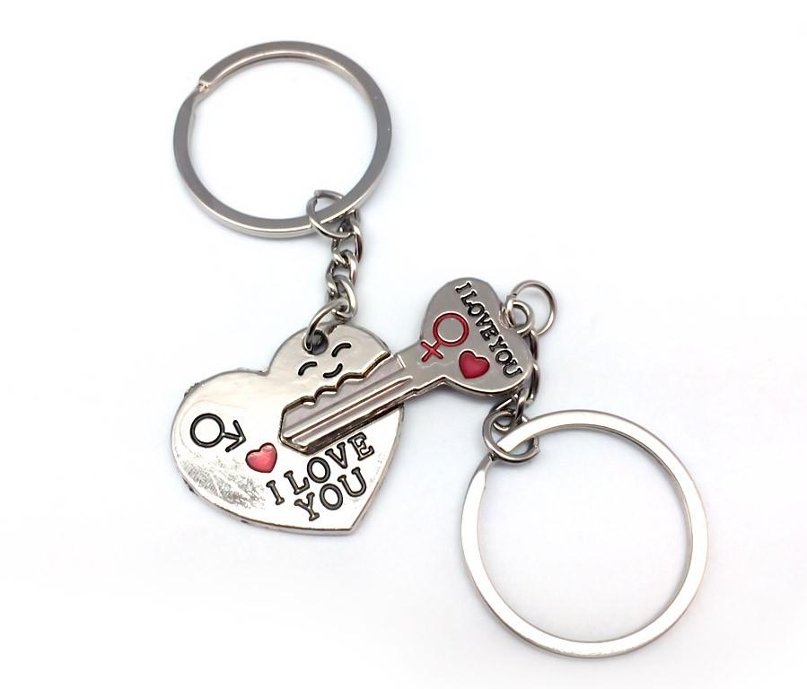 Брелоки для влюбленных Ключ от сердца