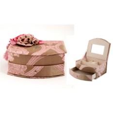 Шкатулка для ювелирных украшений с двумя ящичками Цветок