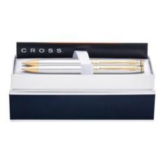 Набор с позолотой Cross; шариковая ручка и карандаш