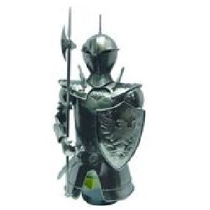 Декоративная подставка для бутылки Рыцарь