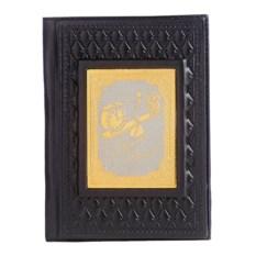 Обложка для паспорта из кожи «Финансисту»
