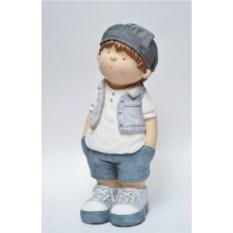 Садовая декоративная фигура Мальчик