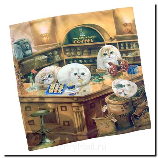 Подушка «Кафе Генри»