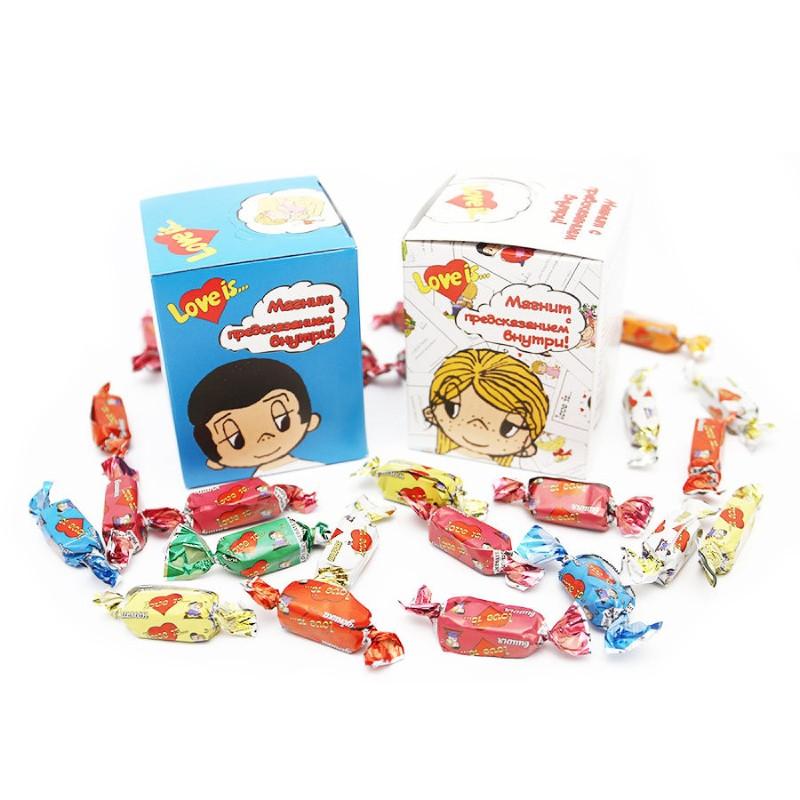 Жевательные конфеты «Love is..»