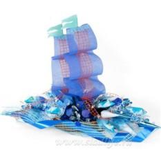 Букет из конфет Синий туман