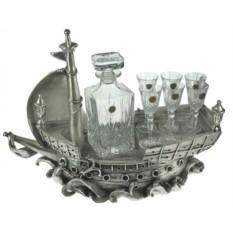 Подарочный набор для водки  Флагман
