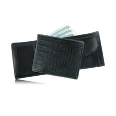 Мужской кошелек из кожи брюшной части каймана