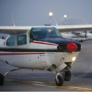 За штурвалом самолёта Cessna