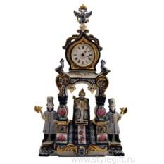 Фарфоровые часы Царский трон