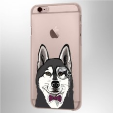 Чехол для iPhone Хаски