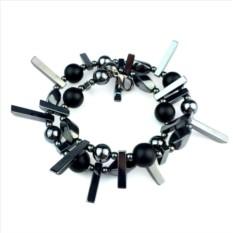Мужской браслет из натуральных камней Hleather