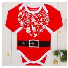 Детское боди Любимчик Деда Мороза
