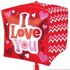 Шар-куб I LOVE YOU