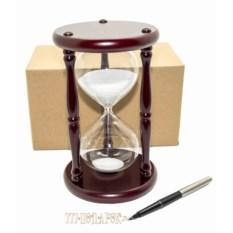 Песочные часы на 20 минут (белый песок)