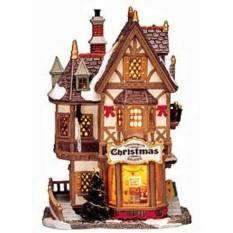 Керамический домик Рождественский магазин