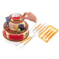 Набор инструментов для украшения тортов Delicia Deco, 6 шт