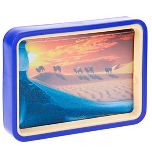 Песочная картина-антистресс с зеркалом «Караван»