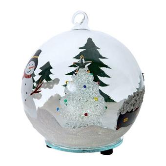 Рождественская ёлка в шаре