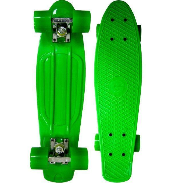 Зеленый скейт Cruiser Board ecoBalance