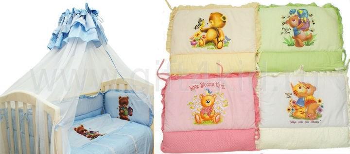 Комплект в детскую кроватку Панно
