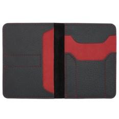 Автобумажник Hakuna Matata (цвет: черный с красным)