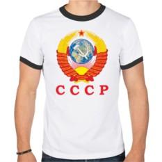 Мужская футболка рингер USSR