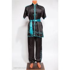 Черный костюм ифу с коротким рукавом