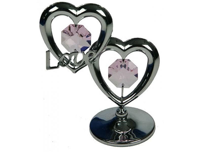 Фигурка с кристаллами Swarovski Сердце