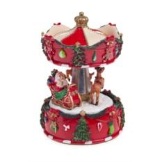 Интерактивное новогоднее украшение Дед Мороз на санях