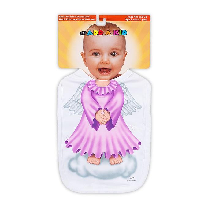 Слюнявчик Ангелочек