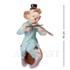 Фигурка Клоун со скрипкой (Pavone)