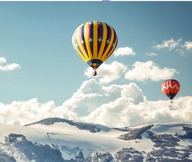 Индивидуальный полёт на воздушном шаре для пятерых