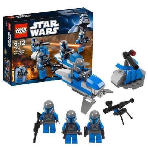 Игрушка LEGO Боевой отряд Мэндэлориан