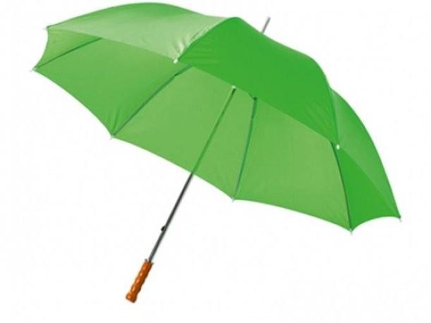 Зонт-трость зеленого цвета