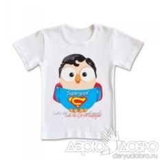 Детская футболка с совой Supergoof от Goofi