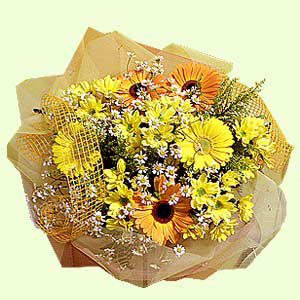 Букет цветов «Лучезарный»