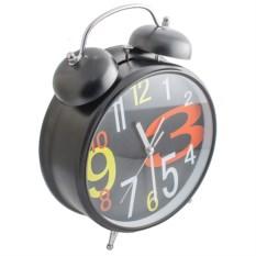 Часы-будильник Гигант черного цвета