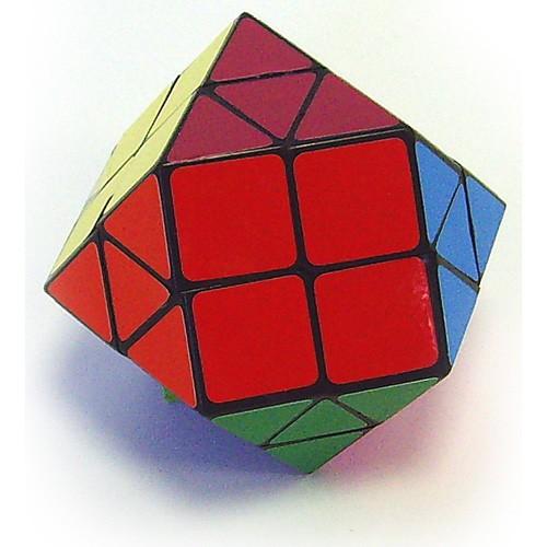 Головоломка пластиковая (треугольник с квадратом)