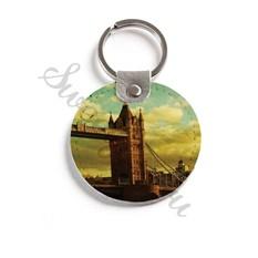 Кожаный брелок Tower Bridge
