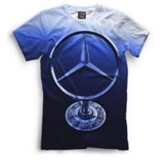Мужская футболка Print Bar Mercedes-Benz