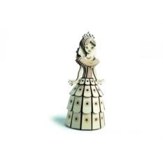 Подвижный деревянный 3D конструктор Lemmo Принцесса